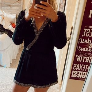 The cutest long sleeve romper!!